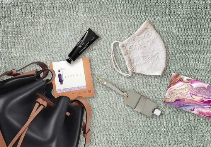 What to Pack in Your Purse for the New Normal