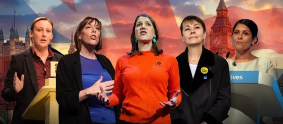 A record number of women candidates in the UK elections this time.