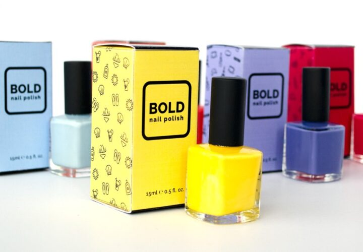 How can you make nail polish boxes more attractive?