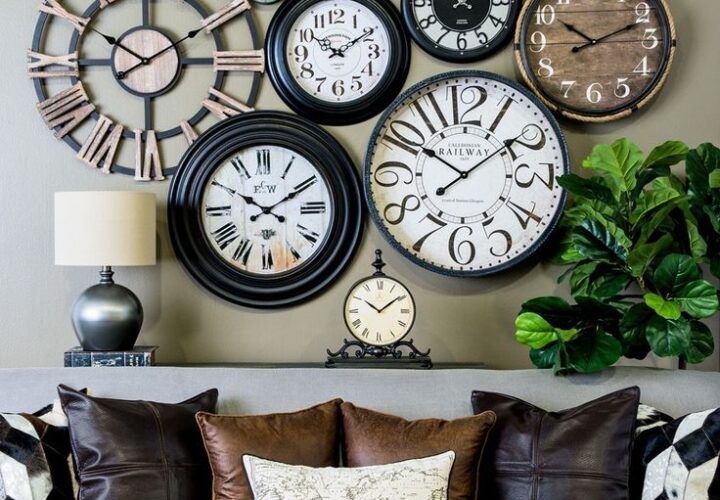 Elegant Timepieces to Adorn the Walls of Your Home