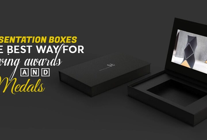 Presentation Boxes is the best way of giving Awards and Medals