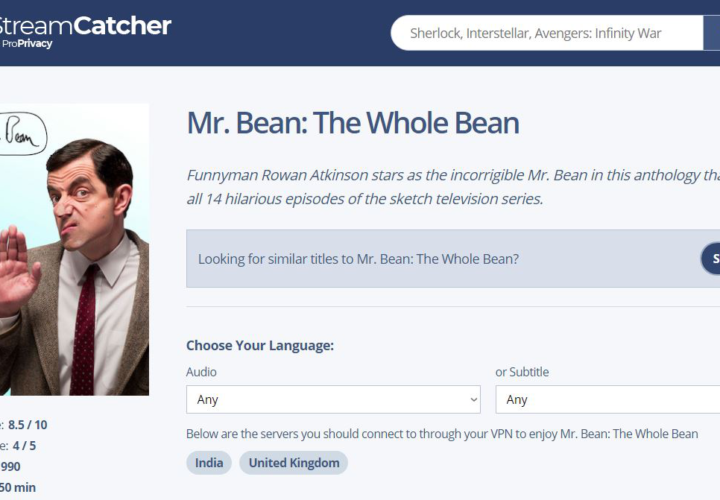 How to Watch Mr. Bean: The Whole Bean on Netflix