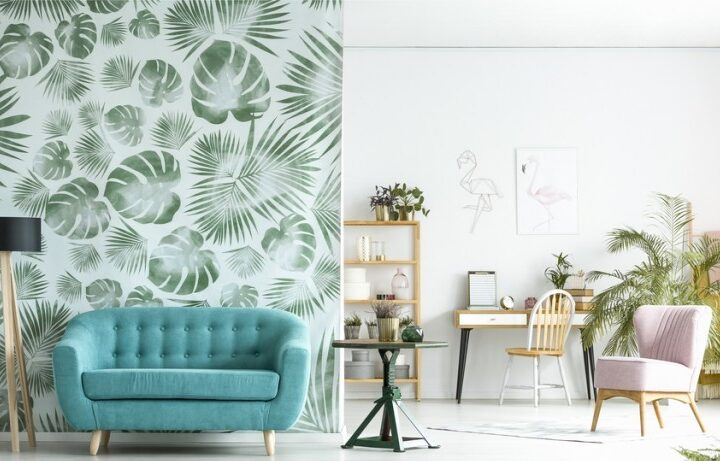 Wallpaper or Painting- Choice for the Living space