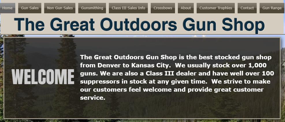 Great Outdoors Gun Shop