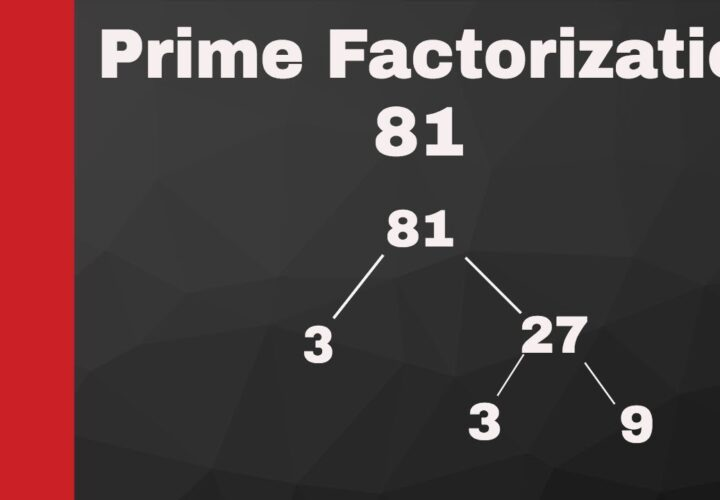 Benefits of Math Worksheets for Learning Prime Factorization