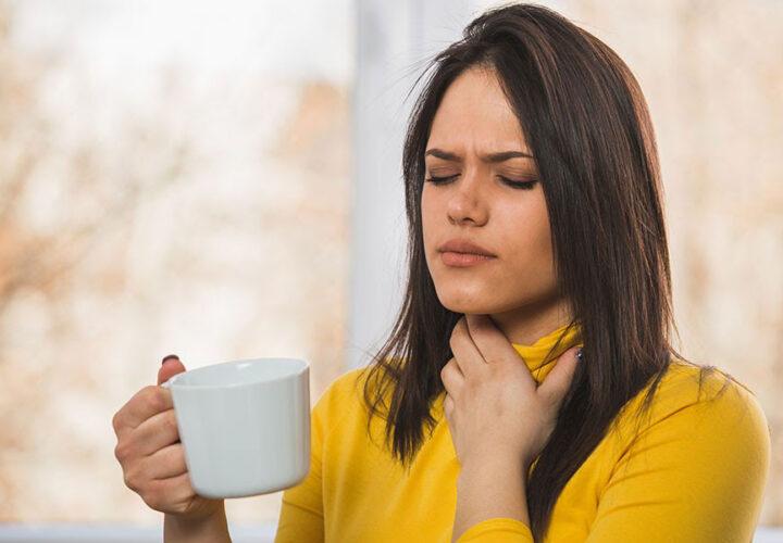 Fixing sore throat