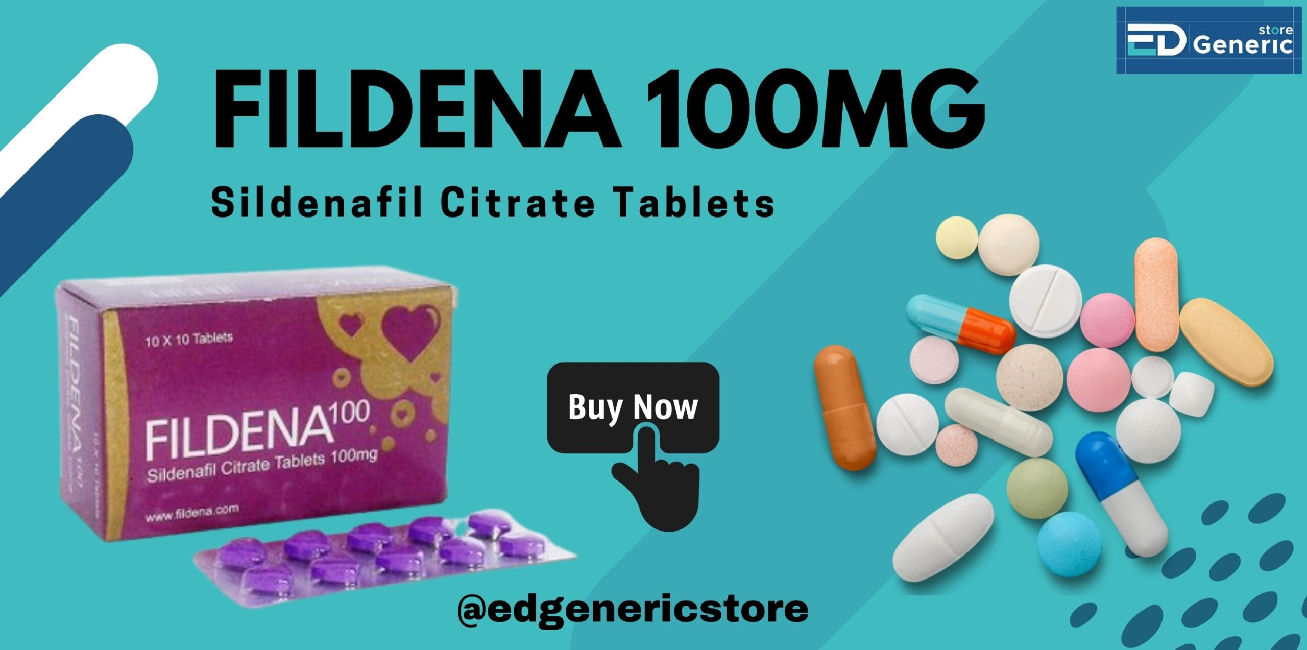 Buy Fildena 100mg online | Ed Generic Store
