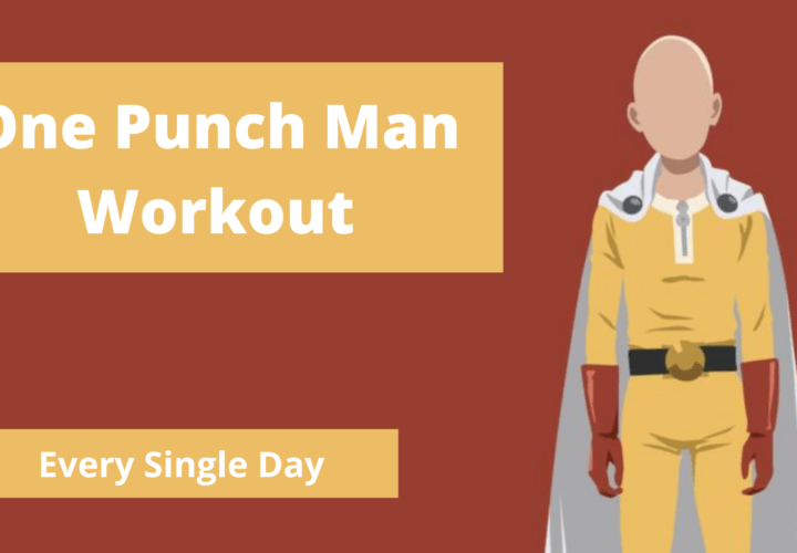 One Punch Man Workout: The Science of Saitama Workout