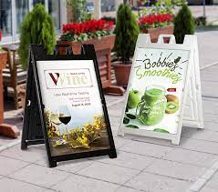 Why Businesses Love Using Pop-Up A-Frame Signs