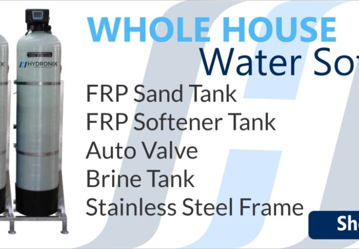 Why use a Whole House Water Softener System in your Home?