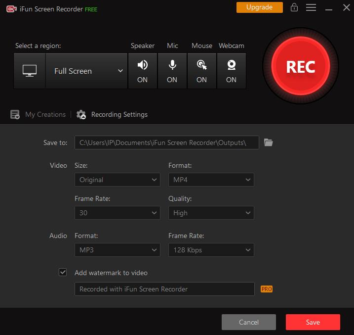 iFun Screen Recorder: