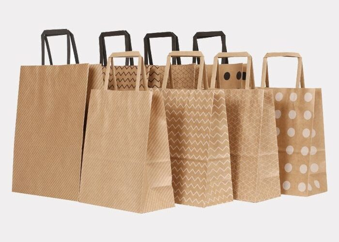 Some Great Reasons for Using Wholesale Kraft Paper Bags in the Food Industry