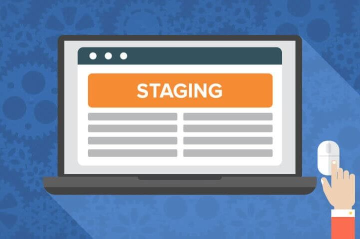 What is staging server environment ?