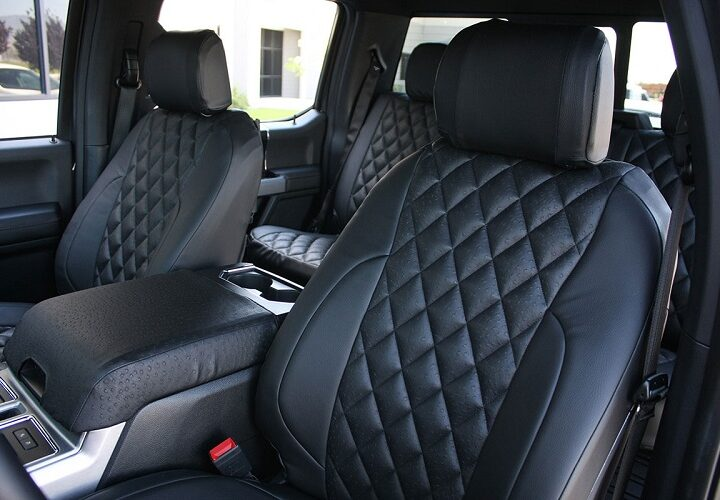 Custom Ford F-150 Seat Covers from Saddleman