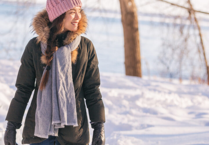 How mufflers are providing warmth on severe winter days?