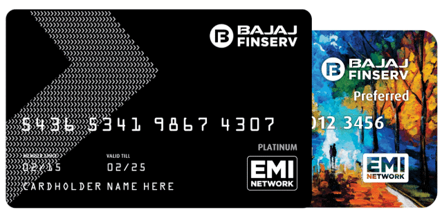 What is the eligibility criteria for obtaining the Bajaj EMI Card?