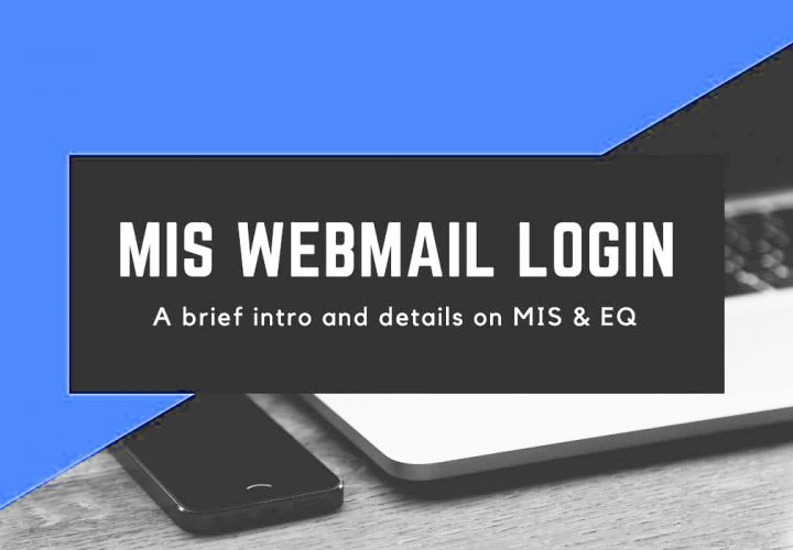 Process for creating an account on mis webmail