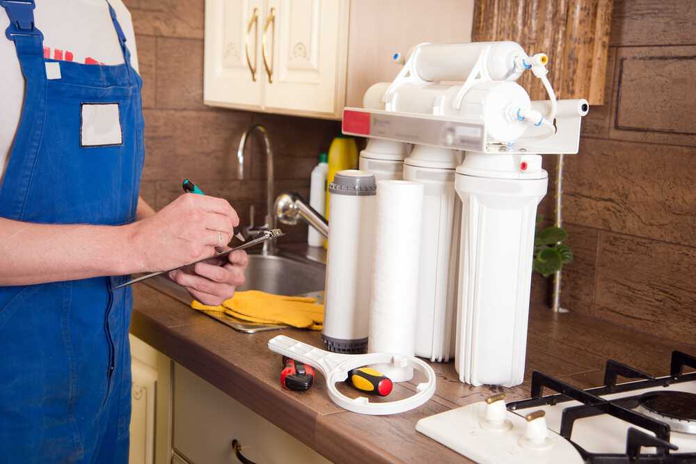 Replace Your Water Filter Cartridges